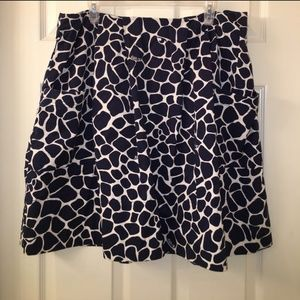 Giraffe print Lily Pulitzer Skirt